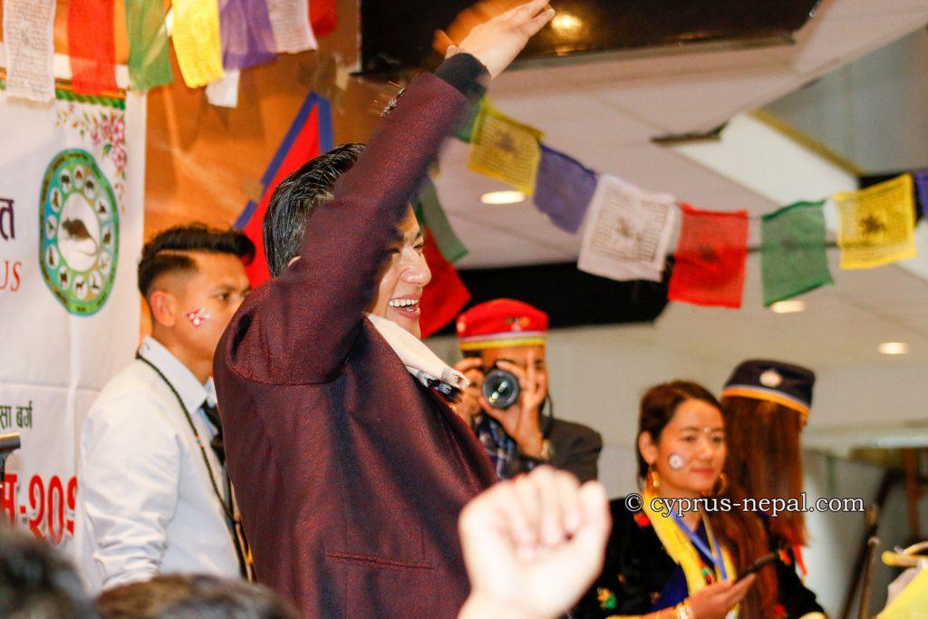 smile raju lama in cyprus 2020